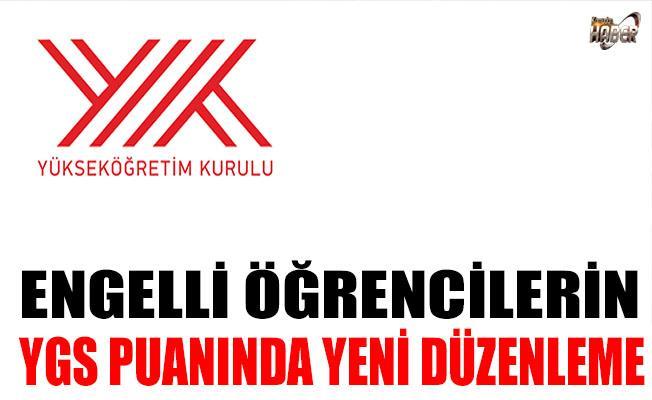 YGS'DE ENGELLİ ÖĞRENCİLER İÇİN ÖNEMLİ DÜZENLEME!