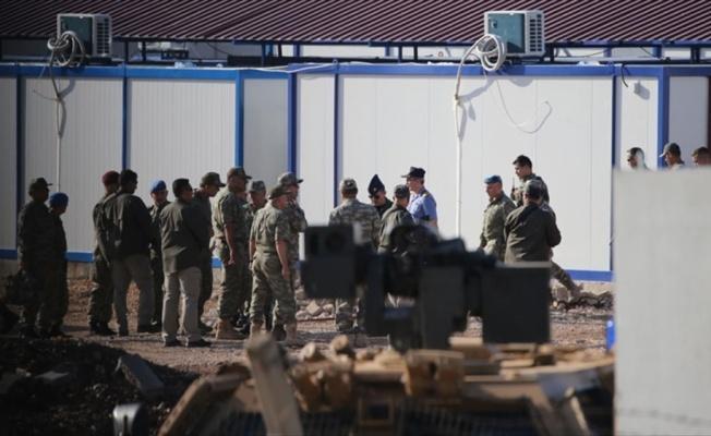 Genelkurmay Başkanı Orgeneral Akar, Suriye sınırında