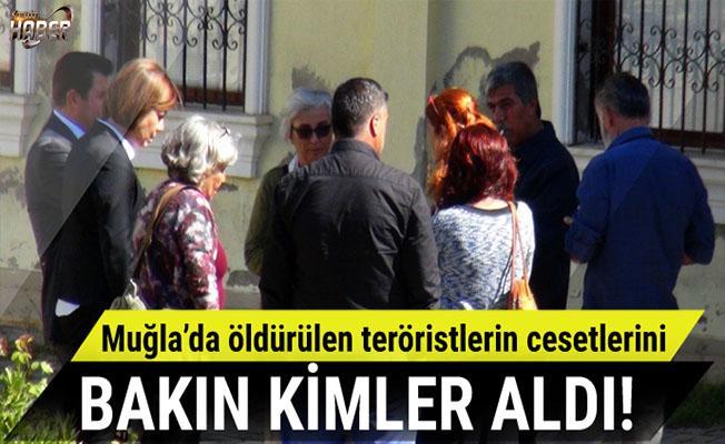 HDP'liler öldürülen teröristlerin cesetlerini aldı