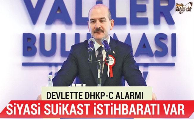 İçişleri Bakanı: Siyasi suikast istihbaratı var