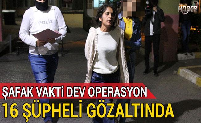 İstanbul'da geniş çaplı terör operasyonu!