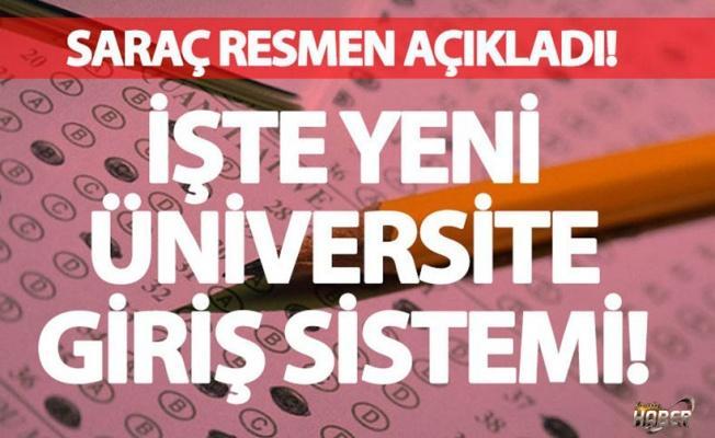 İşte üniversiteye giriş için yeni sistem!