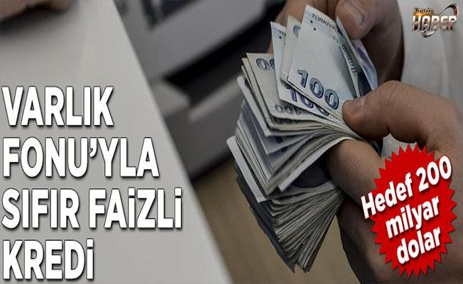 TVF, sıfır faizli kredi sunacak