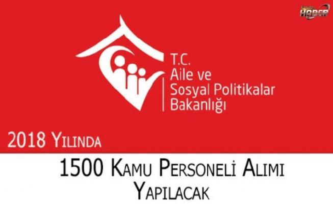 2018 YILINDA 1500 ASDEP PERSONELİ ALIMI YAPILACAK