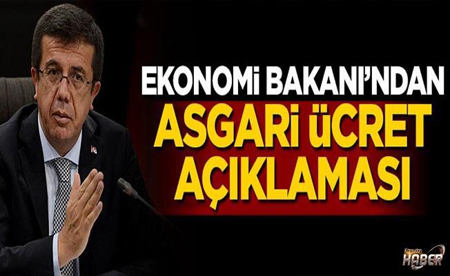 Bakan Zeybekçi'den asgari ücret açıklaması