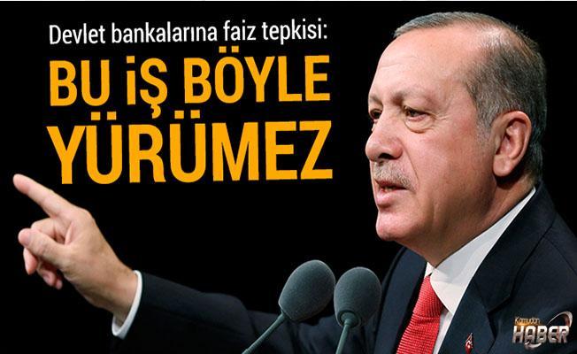 Cumhurbaşkanı Erdoğan'dan faiz açıklaması!