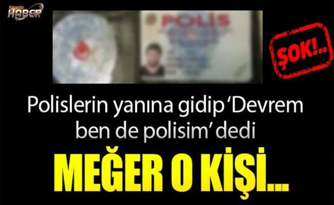 Diyarbakır'da sahte polis yakalandı