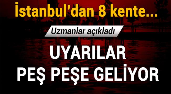 İstanbul dahil 8 kente yağış geliyor