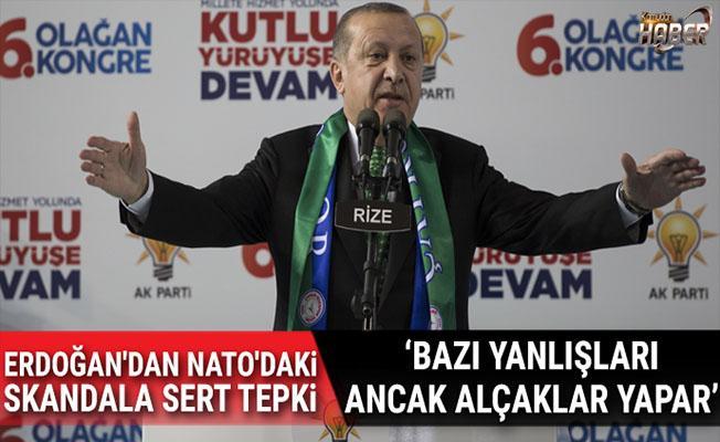 NATO'daki skandal için Erdoğan'dan sert tepki!