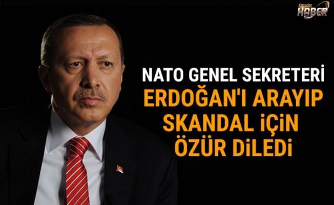 NATO genel sekreketeri, Erdoğan'dan özür diledi