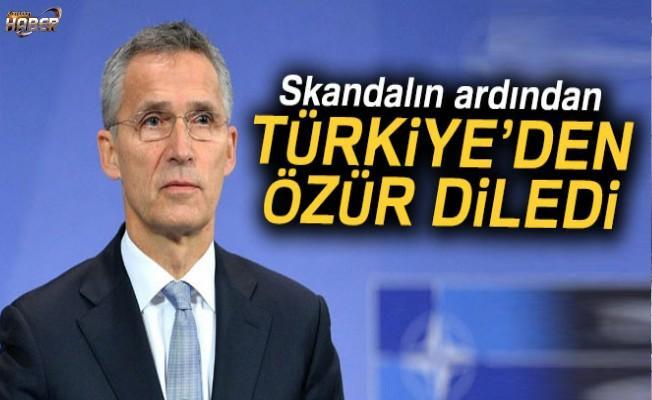 NATO Genel Sekreterinden Türkiye'ye özür!