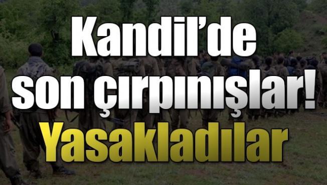 PKK'yı panik sardı! Yasakladılar