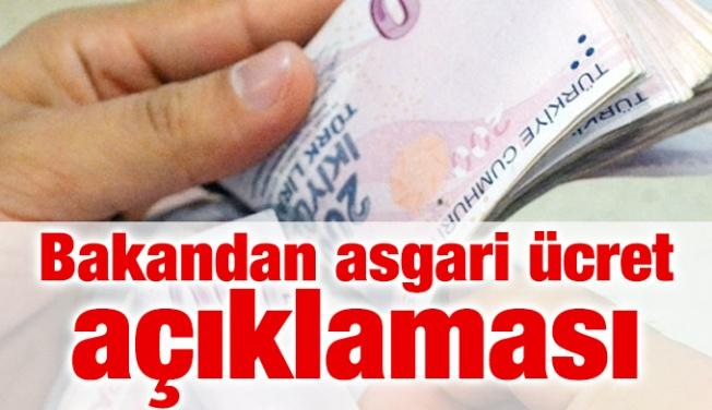 Çalışma Bakanı'ndan 'asgari ücret' açıklaması
