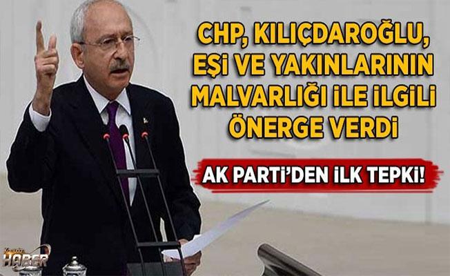 CHP, Kılıçdaroğlu'nun mal varlığı için önerge verdi
