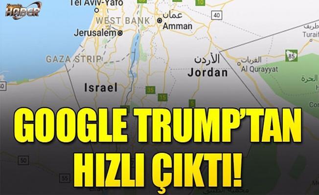 Google Trump'tan hızlı çıktı!