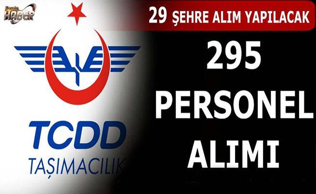 TCDD, 295 personel Alımı Yapacak