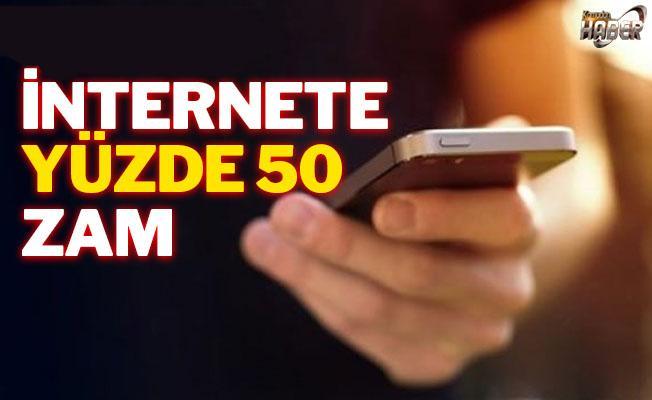 Yeni yılda İnternet, yüzde 50 zam kapıda!
