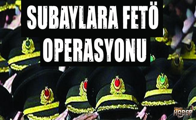 Yüksek rütbeli subaylara operasyon!