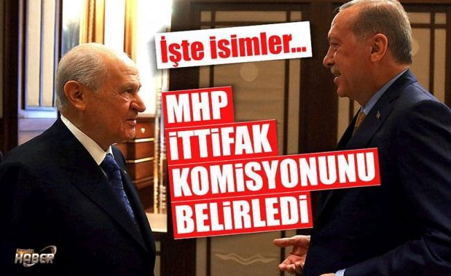 MHP'nin 'seçim ittifakı' için komisyon üyeleri belli oldu