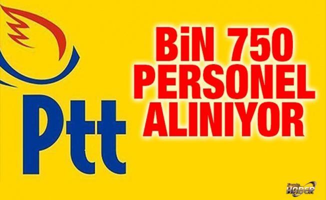 PTT'ye bin 750 personel alımında süreç başladı