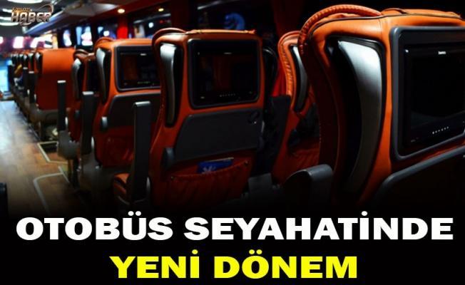 Şehirlerarası otobüs yolculuğunda yeni dönem