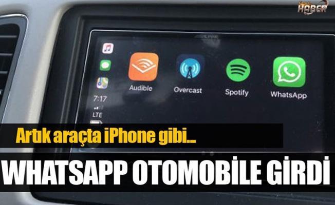 WhatsApp otomobillere de geliyor!