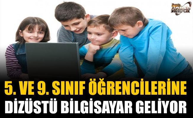 5 ve 9. Sınıf Öğrencilerine Dizüstü Bilgisayar Müjdesi!