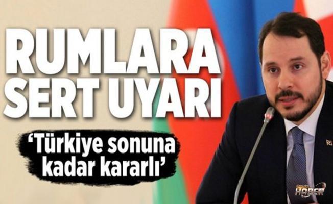 Bakan Albayrak: Türkiye bunun sonuna kadar karşısında olacaktır .