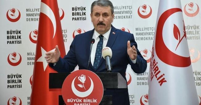 Destici'den Başbuğ'a: Döneminizde PKK terör örgütü neden bitmedi?