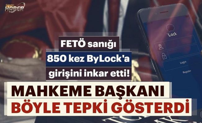 FETÖ sanığı 850 kez ByLock'a girişini inkar etti