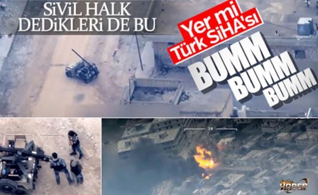 Sivil teröristler saldırdı bombayla havaya uçurduk