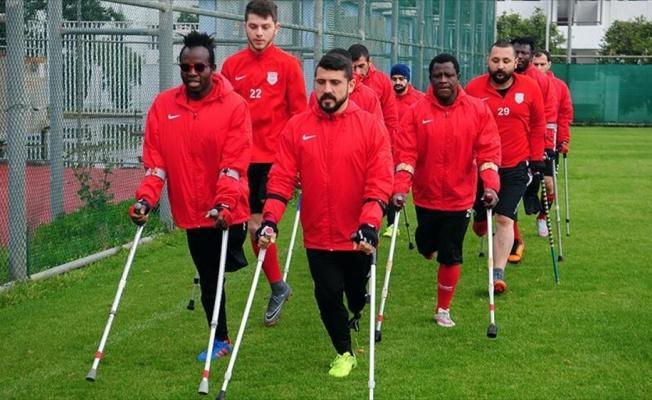 Ampute Milli Takımı'nın oyuncusu Türkmen: Adımızı dünyaya duyuracağız