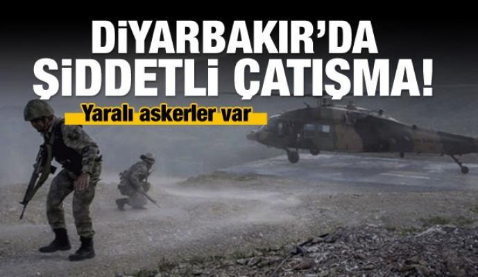 Diyarbakır'da sıcak çatışma: Yaralı askerler var!