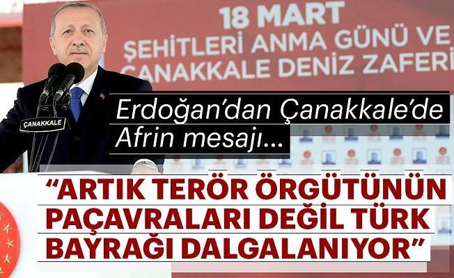 Erdoğan: Afrin şehir merkezi kontrol altına alındı