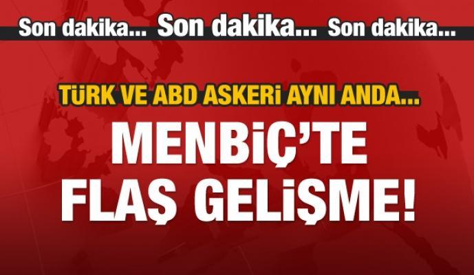 Flaş gelişme! ABD ve Türk askeri aynı anda...