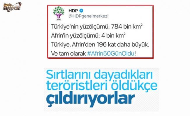HDP öldürülen teröristler için ağlıyor