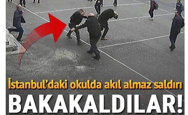 İstanbul'daki okulda veliden öğretmene saldırı! Süpürge sapıyla kurtuldu