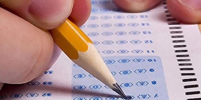 Okuldaki test sınavında terör propagandası