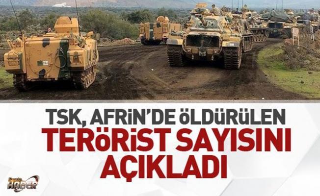 TSK'dan açıklama: 3444 terörist öldürüldü.