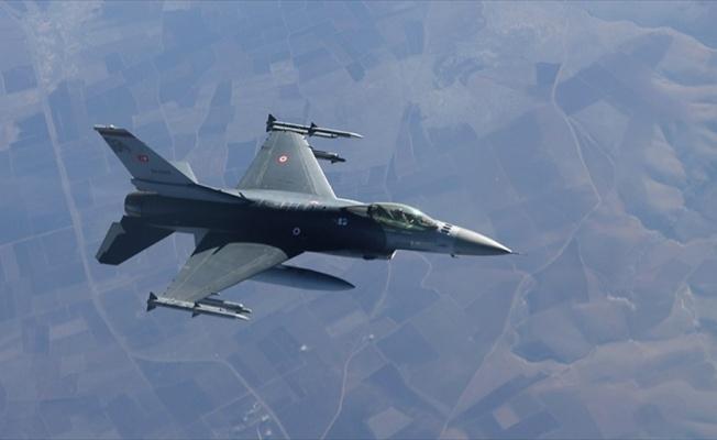 TSK'dan Irak'ın kuzeyine hava harekatı: 8 hedef imha edildi