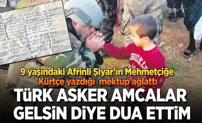 Türk asker amcalar gelsin diye dua ettim .