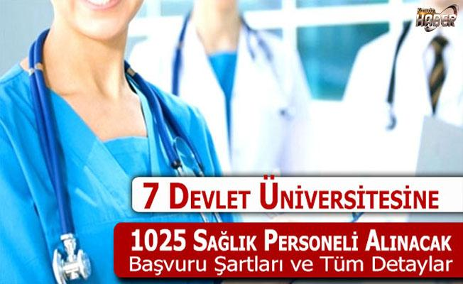 1025 Sağlık Personeli Memur Alımı Yapılacak