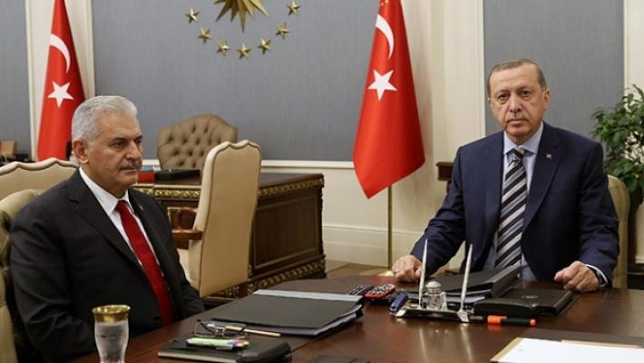 Cumhurbaşkanı Erdoğan, Yıldırım ile görüşüyor