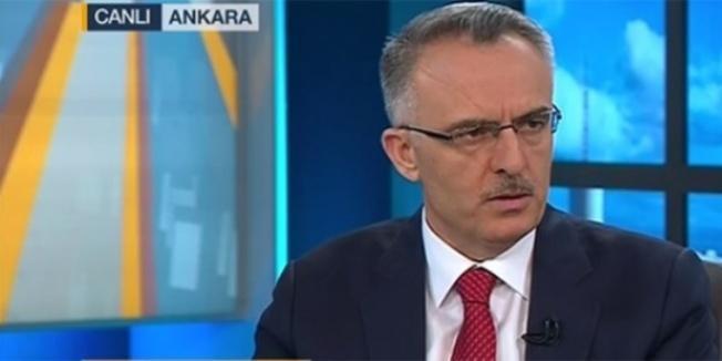 Maliye Bakanı: Bütçe Martta 20,2 milyar lira açık verdi