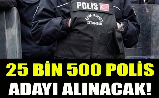 25 bin 500 polis adayı alınacak! Polis olma şartları nelerdir ? 2018 yılında güncel Polislik şartları.