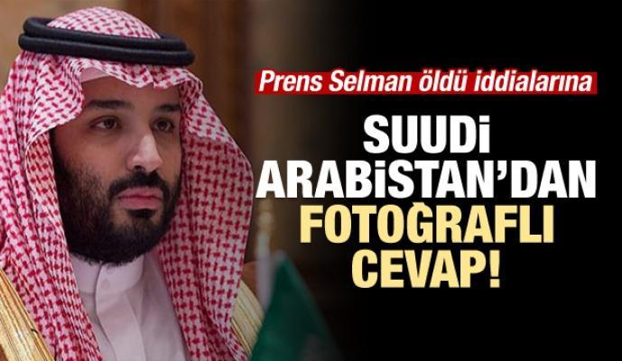 Selman öldü iddialarına Suudi Arabistan'dan cevap!