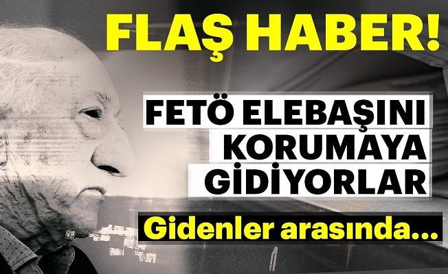 Teröristbaşı Fetullah Gülen'i koruma nöbeti