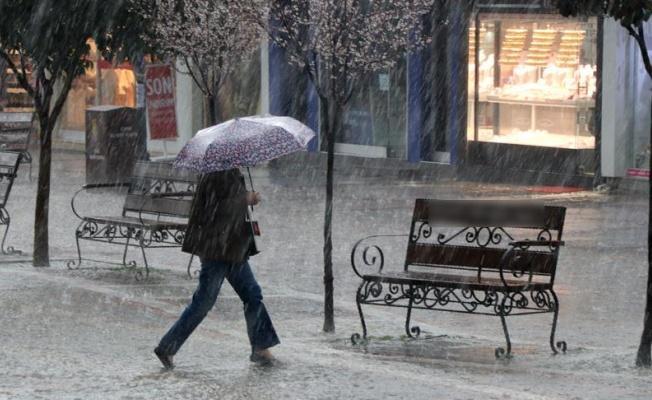 Meteoroloji'den üç il için yağış uyarısı