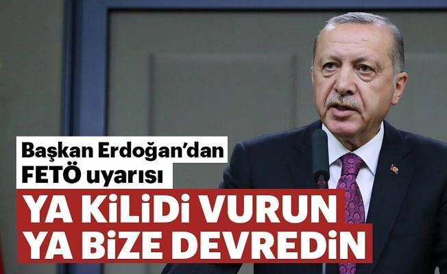 Erdoğan uyaracak: Ya kapatın, ya da bize devredin