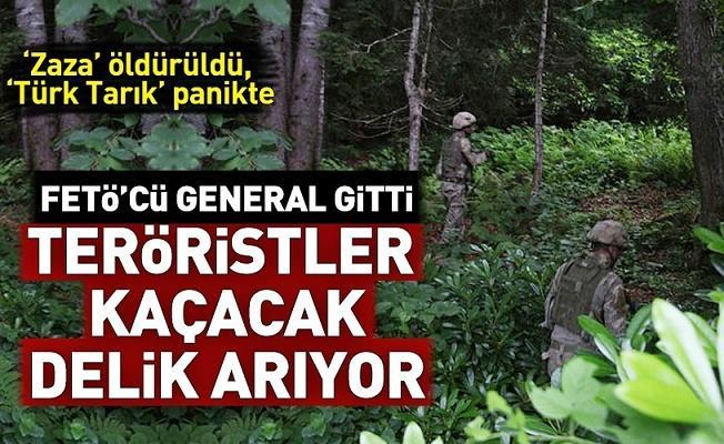 FETÖ'cü general gitti, Doğu Karadeniz'de teröristler kaçacak yer arıyor! 'Cudi Zaza' öldürüldü, 'Türk Tarık' panikte.